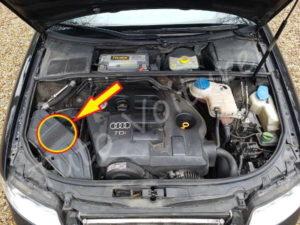 Demontage arrivée air - Audi A4 B6 - Tutovoiture