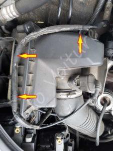 Accés boite à air - Audi A4 B6 - Tutovoiture