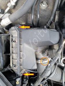 Ouvrir boite à air - Audi A4 B6 - Tutovoiture