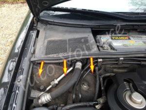 Ouvrir compartiment filtre a pollen - Audi A4 B6 - Tutovoiture