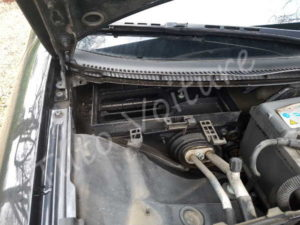 Sortir filtre à pollen - Audi A4 B6 - Tutovoiture