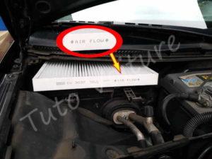 Sens filtre à pollen Audi A4 B6 - Tutovoiture