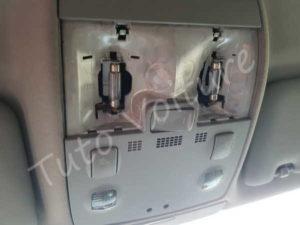 Ampoule plafonnier avant - Audi A4 b6 - tuto voiture