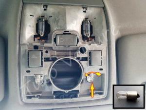 Ampoule boitier lumière intérieur Audi A4 B6 - Tutovoiture