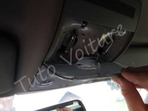 Couvercle ampoule plafonnier - Audi A4 B6 - Tuto voiture