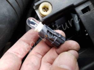 Douille ampoule veilleuse - Audi A4 B6 - Tuto voiture