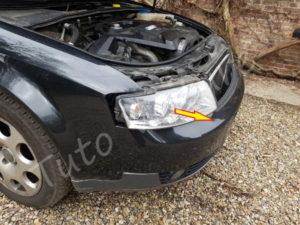 Sortir Optique Audi A4 B6 - Tutovoiture