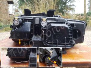 Ouvrir cache poussiere Audi A4 B6 - Tutovoiture