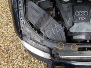 Fixation prise air - Audi A4 B6 - Tutovoiture