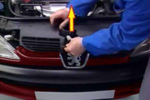 Sortir calandre - Peugeot 206 - Tutovoiture