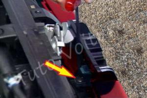 Démontage calandre inférieure - Peugeot 206 CC - Tutovoiture