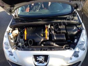 Cache moteur - Peugeot 308 - Tuto voiture