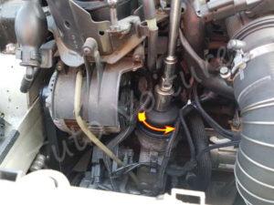 Démonter filtre à huile - Peugeot 308 CC - Tuto voiture