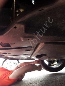 Protection moteur - Peugeot 308 CC - Tuto voiture