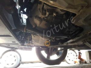 Position bouchon vidange - Peugeot 308 CC - Tuto voiture