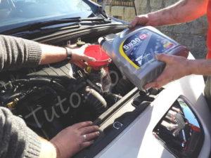 Huile vidange - Peugeot 308 CC - Tuto voiture