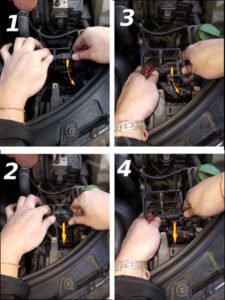 Enlever porte cable Audi A4 B6 - Tutovoiture