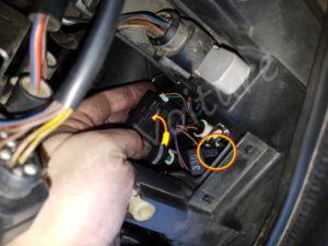 Accéder ampoule veilleuse Audi A4 B6 - Tutovoiture