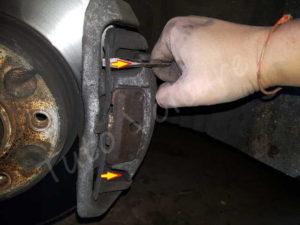 Tringle étrier de frein BMW E60 série 5 - Tutovoiture