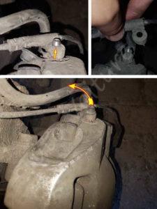 Liberer câble témoin usure BMW E60 série 5 - Tutovoiture
