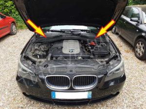 Position - emplacement filtre habitacle BMW E60 série 5 - Tutovoiture