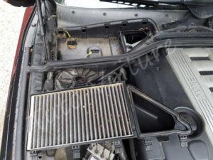 Filtre habitaclePosition de feux avant BMW E60 série 5 - Tutovoiture