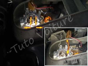 Ampoule croisement - Renault Espace 3 Phase 1 - Tuto voiture