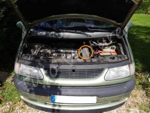 Position filtre à air - Renault Espace 3 phase 1 - Tuto voiture