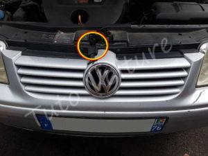 Loquet ouverture capot Volkswagen Bora - Tutovoiture