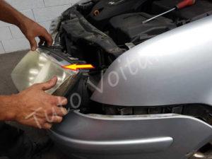 Sortir bloc feux avant Volkswagen Bora - Tutovoiture