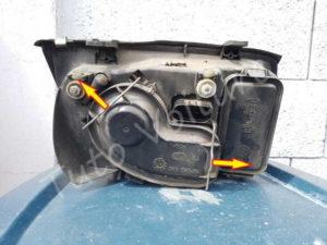 Ouvrir cache poussière ampoule Volkswagen Bora - Tutovoiture