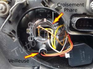Position de feux avant Volkswagen Bora - Tutovoiture