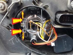 Tringle ressort ampoule Volkswagen Bora - Tutovoiture