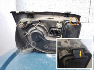 Ouverture boite clignotant Volkswagen Bora - Tutovoiture
