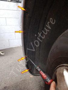 Fixation pare-chocs Volkswagen Bora - Tutovoiture