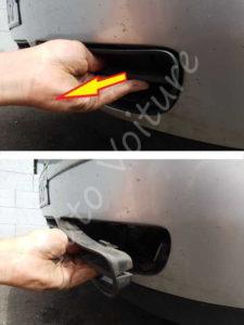 Démontage grille pare-chocs Volkswagen Bora - Tutovoiture