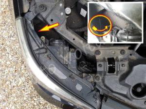 Accès ampoule clignotant BMW E60 série 5 - Tutovoiture