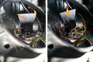 Sortir douille ampoule phare BMW E60 série 5 - Tutovoiture