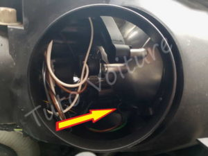 Emplacement clignotant sur optique Citroën C4 Picasso - Tutovoiture
