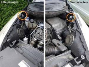 Emplacement veilleuse Citroën C4 Picasso - Tutovoiture
