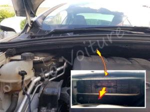 Ouvrir boite filtre habitacle - Peugeot 308 - Tuto voiture