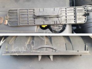 Cache filtre à pollen - Peugeot 308 - Tuto voiture