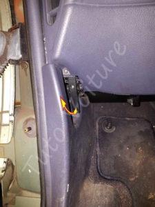 Tirette ouverture capot - Renault Espace 3 - Tuto voiture
