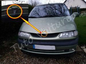 Loquet ouverture coffre - Renault Espace 3 - Tuto voiture