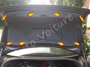 Garnissage coffre - Audi A4 B6 - Tuto voiture