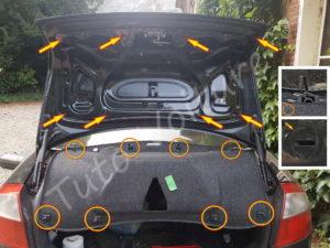 Moquette coffre - Audi A4 B6 - Tutovoiture