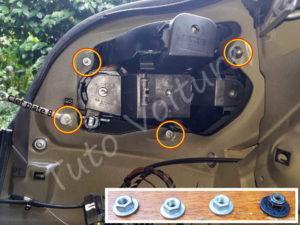 Fixation du bloc optique arrière BMW E60 série 5 - Tutovoiture