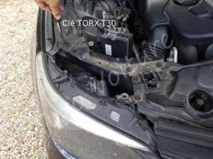 Vis de fixation optique - BMW E60 série 5 - Tutovoiture