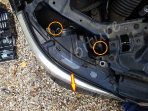 Enlever optique - BMW E60 série 5 - Tutovoiture