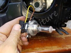 Douille et ampoule croisement - BMW E60 série 5 - Tutovoiture